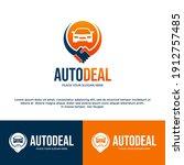 auto deal vector logo template. ... | Shutterstock .eps vector #1912757485