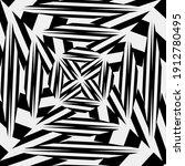 black and white mandala.... | Shutterstock . vector #1912780495