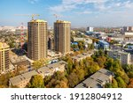 Autumn Cityscape With Two...