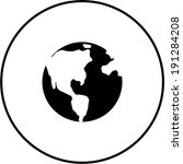 earth symbol | Shutterstock .eps vector #191284208