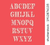 Love Vector Alphabet. Romantic...