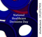 national healthcare decisions... | Shutterstock .eps vector #1912917955