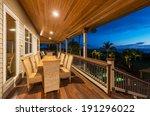 Beautiful Home Exterior Patio...