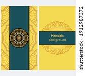 mandalas. decorative round... | Shutterstock .eps vector #1912987372