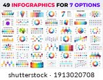 49 infographics for 7 options....   Shutterstock .eps vector #1913020708