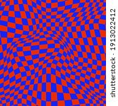 Psychedelic Warped Checkerboard....