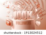 thank you followers peoples ... | Shutterstock .eps vector #1913024512