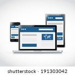 responsive business web site...