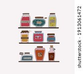 Cute Collection Of Jars With...