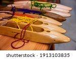 Weaving Equipment On The...