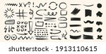 various hand drawn arrows and... | Shutterstock .eps vector #1913110615