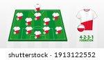 poland national football team... | Shutterstock .eps vector #1913122552
