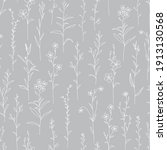 seamless pattern with wild... | Shutterstock .eps vector #1913130568