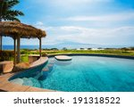 luxury home with swimming pool  ... | Shutterstock . vector #191318522