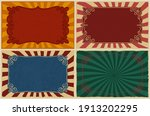 a set of different vintage...   Shutterstock .eps vector #1913202295