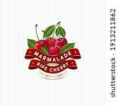 package design for cherry... | Shutterstock .eps vector #1913211862