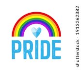 pride concept. card for... | Shutterstock .eps vector #1913262382