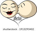 symbol of the day of love to... | Shutterstock .eps vector #1913293402