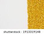 daal chana  heap of yellow... | Shutterstock . vector #1913319148