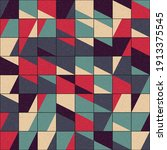 abstract geometric pattern... | Shutterstock .eps vector #1913375545
