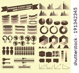info graphic element design | Shutterstock .eps vector #191342345