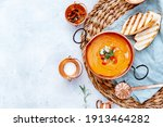 Small photo of Gazpacho summer soup, colt tomato soup