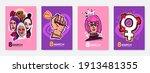 international women's day... | Shutterstock .eps vector #1913481355