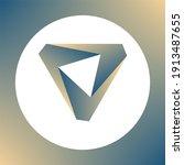 impossible shape. penrose... | Shutterstock .eps vector #1913487655
