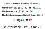 Least Common Multiple  Lcm ...