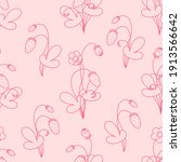 seamless vector pattern with... | Shutterstock .eps vector #1913566642