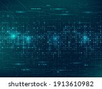 abstract technology background. ...   Shutterstock .eps vector #1913610982