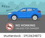 aggressive and angry suv car... | Shutterstock .eps vector #1913624872