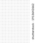 grid paper. dotted grid on... | Shutterstock .eps vector #1913642662