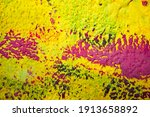 grunge wall background. old dry ... | Shutterstock . vector #1913658892