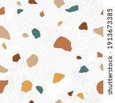 italian terrazzo seamless...   Shutterstock .eps vector #1913673385