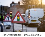 Temporary Traffic Lights...