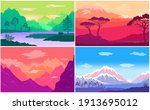 adventure time  multicolored... | Shutterstock .eps vector #1913695012