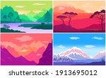 adventure time  multicolored...   Shutterstock .eps vector #1913695012