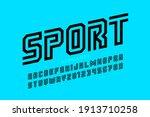 sport style font design ...   Shutterstock .eps vector #1913710258