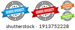 gender diversity stamp. gender...   Shutterstock .eps vector #1913752228