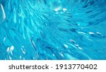 Blue Water Twister. Abstract...