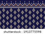 traditional geometric ethnic...   Shutterstock .eps vector #1913775598