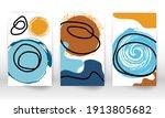 scribbles design. modern... | Shutterstock .eps vector #1913805682