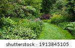 Lush Green Botanical Garden  ...