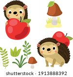 Hedgehogs With Apple And...