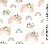children's seamless pattern... | Shutterstock .eps vector #1913928022