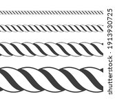different twine black thickness ... | Shutterstock .eps vector #1913930725