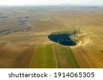 Large Sinkhole In A Valley In...