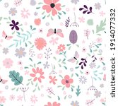 seamless pattern background... | Shutterstock .eps vector #1914077332