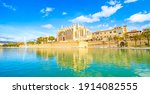 panoramic view of palma de... | Shutterstock . vector #1914082555